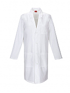 "40"" Unisex Lab Coat w/ Antimicrobial"