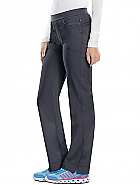 'Infinity' Low-Rise Slim Pull-on Pant