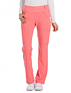 'iflex' Mid Rise Straight Leg Pull-On Pant