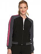 'Infinity' Zip Front Jacket