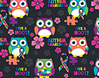 Autism Awareness Owls