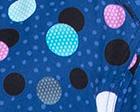 Poppin' Polka Dots Navy