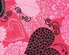 Ribbons And Hearts Pink