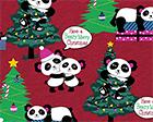 Beary Merry Pandas