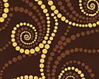 Chocolate Golden Swirls