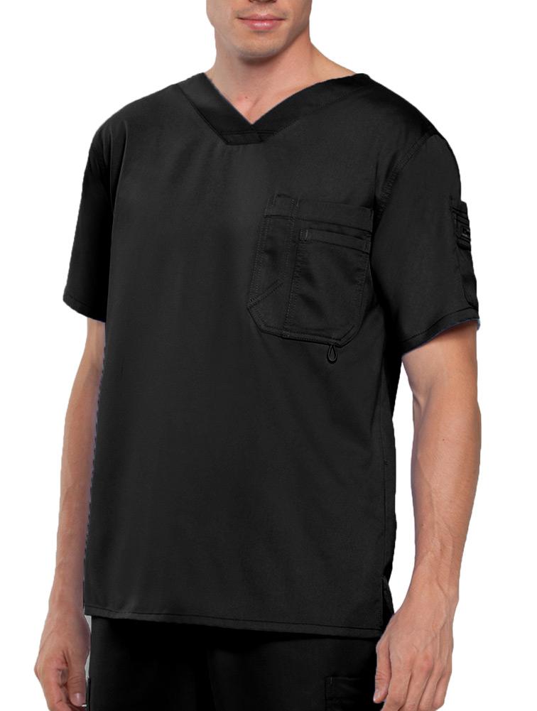 Men's 3 Pocket High V-Neckline Top
