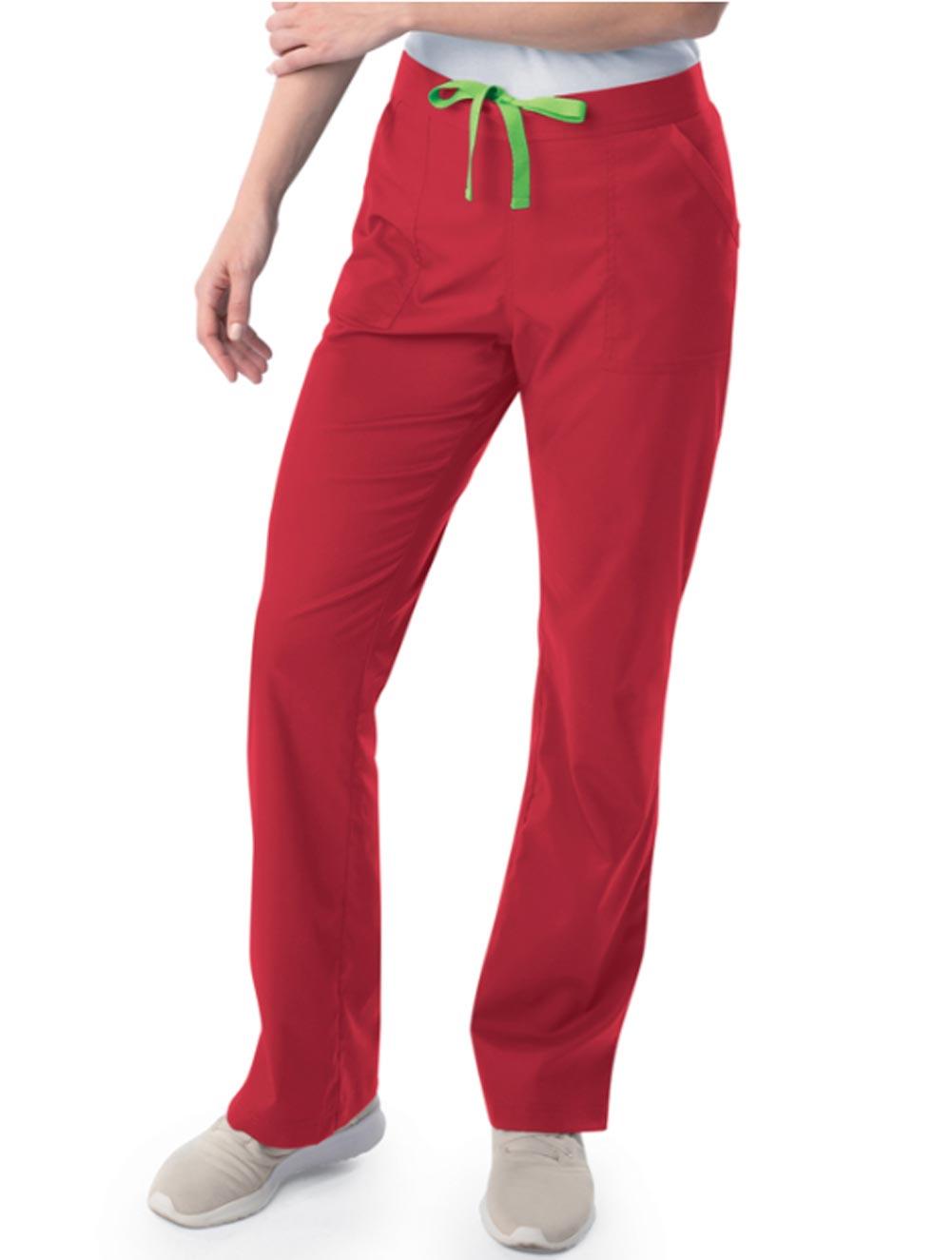 Women's Modern 1/2 & 1/2 Straight Leg Pants