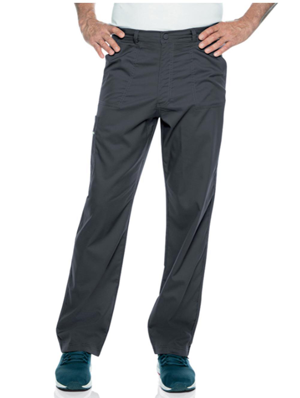 Men's Drawstring Front Elastic Back Cargo Pant