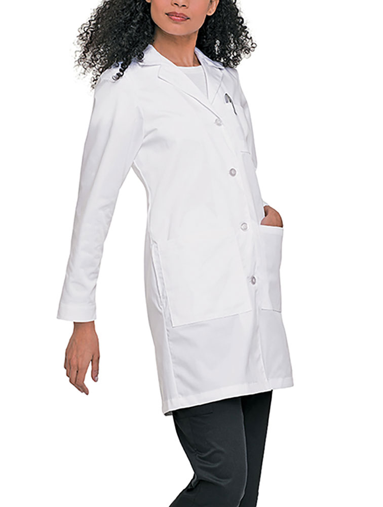 Labcoat With Four Button Closure