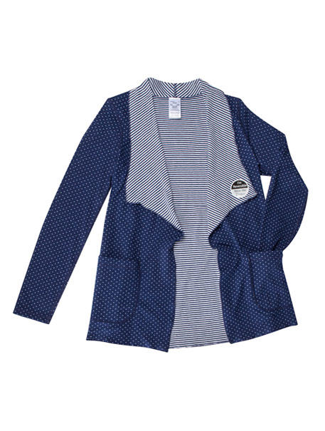 Reversible Knit Cardigan