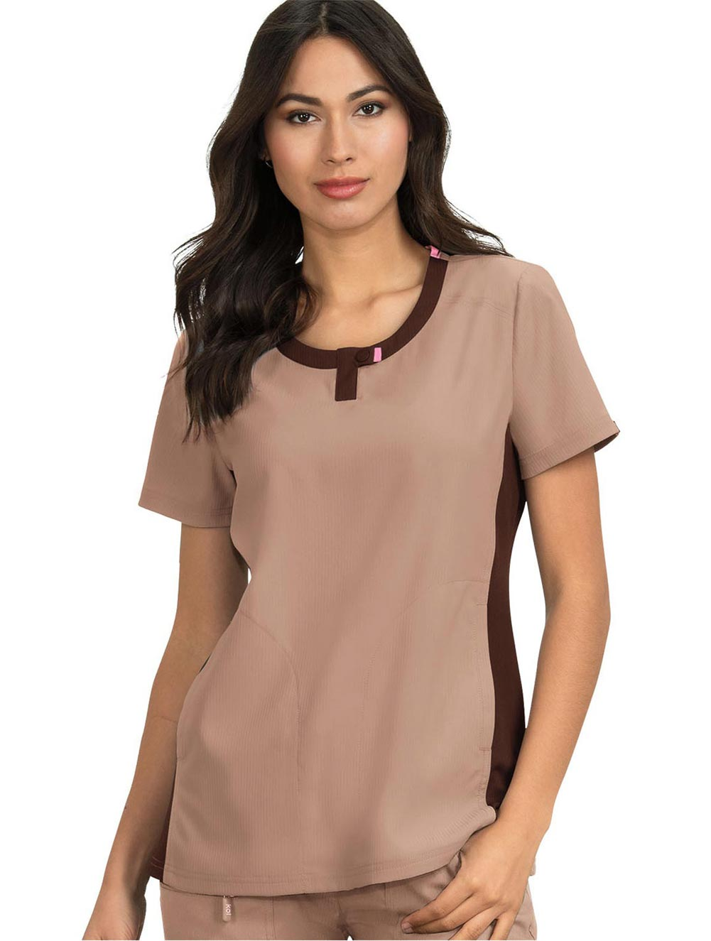 Lotus Scrub Top