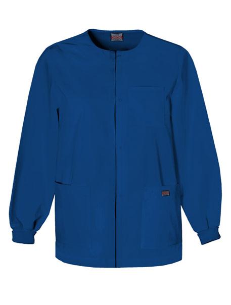 Men's Snap Front Warm-Up Jacket