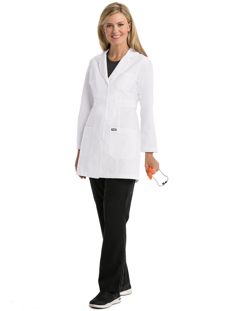 'Grey's Anatomy' Women's Princess Seamed Lab Coat