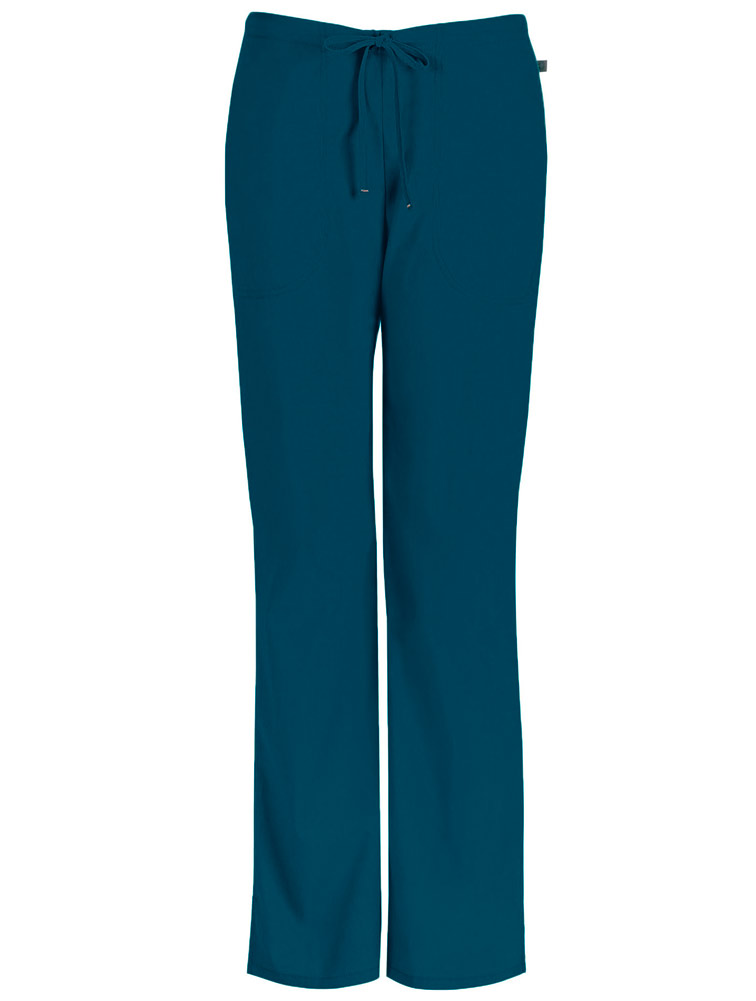 Pewter Code Happy Scrubs Mid Rise Drawstring Pants 46002A PWCH Antimicrobial