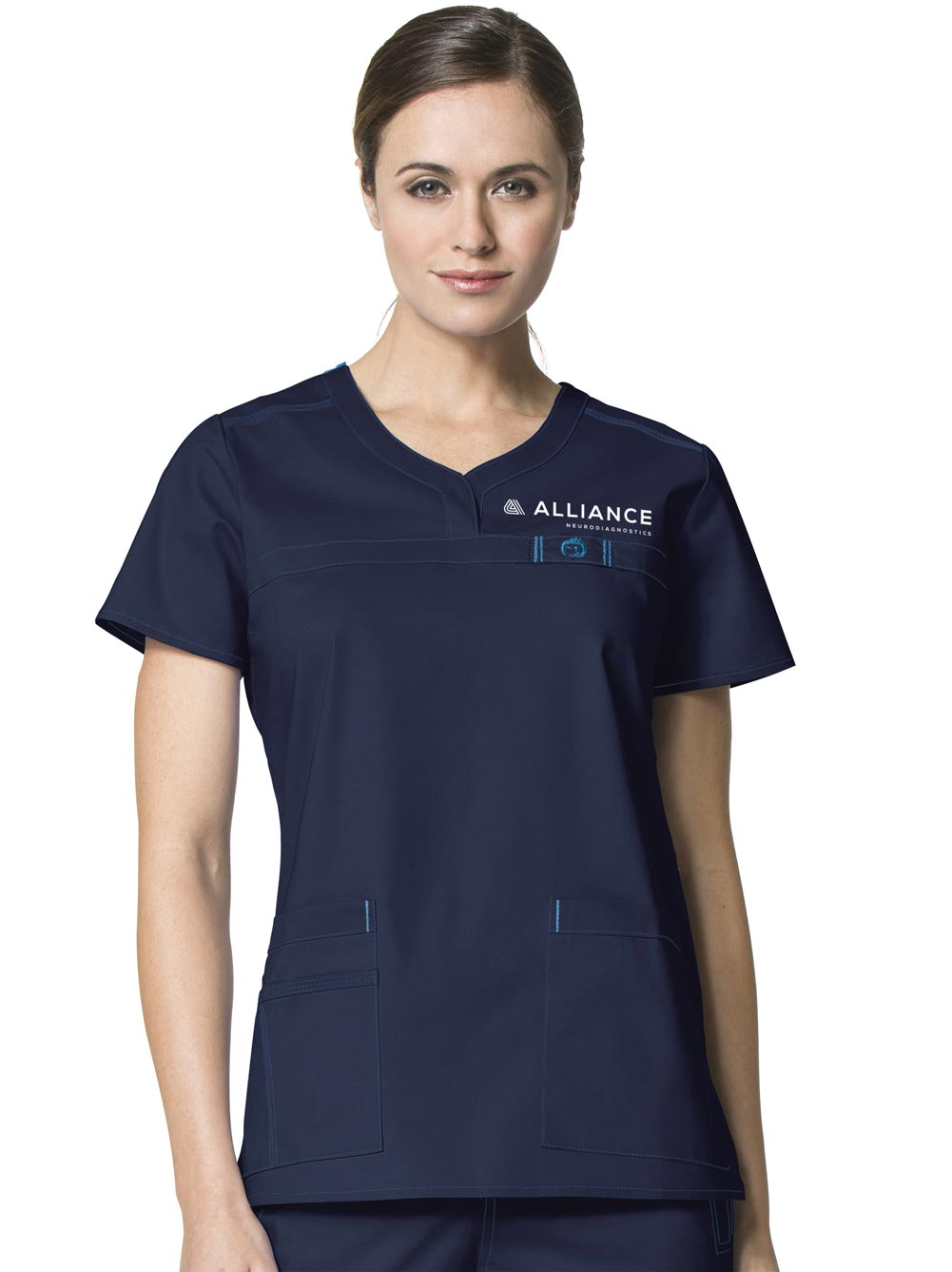 WonderFLEX 'Patience' Curved Neck Top w/ Alliance Logo