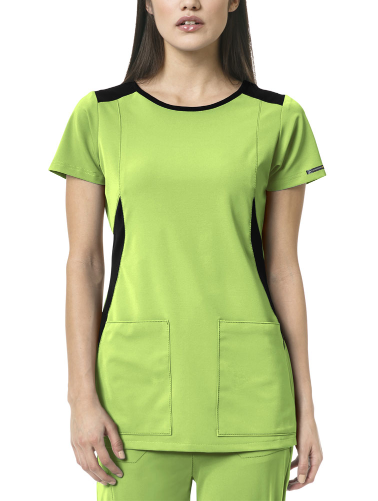 High Performance 'Neo' Boat Neck Top