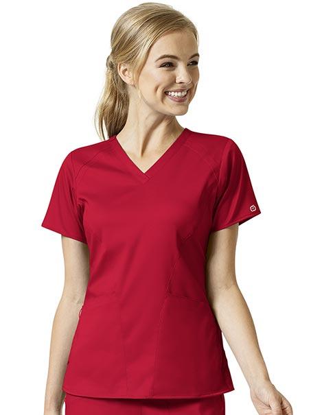 Women's 4 Pocket V-Neck Top