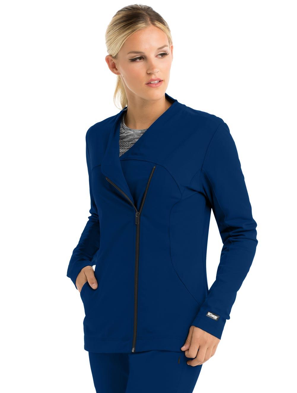 Sorona Asymetric Side Zip Jacket