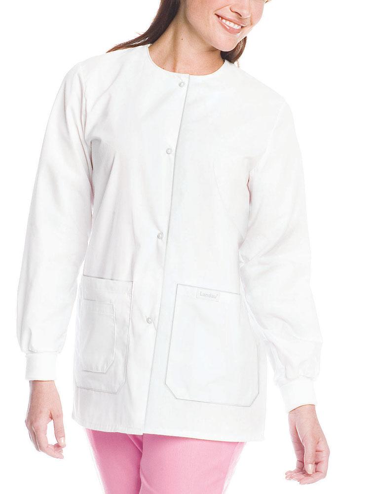 Drawstring Warmup Jacket