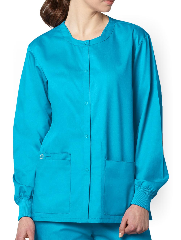 WonderWORK Unisex Snap Front Jacket