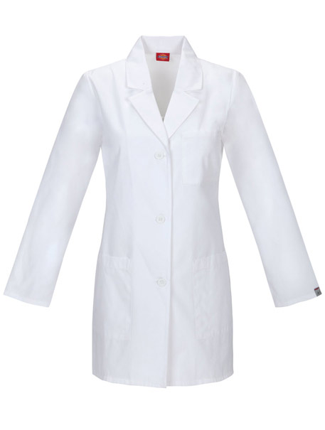 Basic Women's Lab Coat w/ Antimicrobial