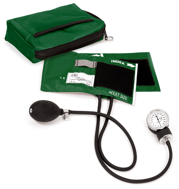 Premium Aneroid Sphygmomanometer with Carry Case
