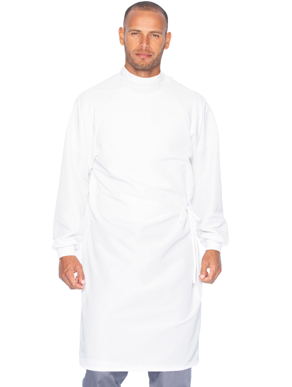 High Neck Unisex Gown