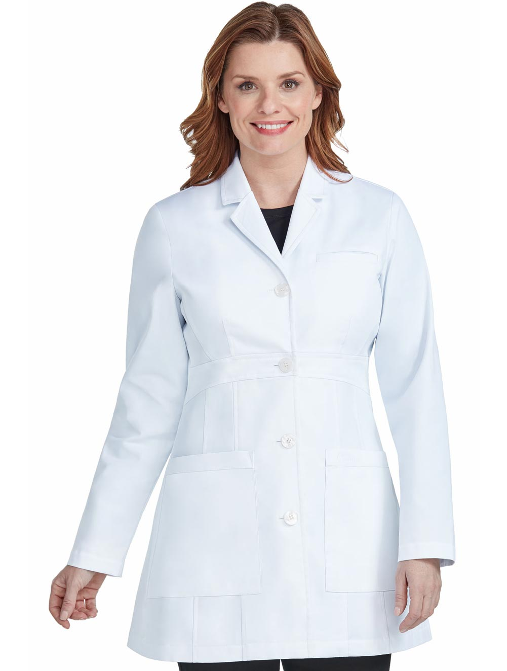 Women's 'Katherine' White Lab Coat