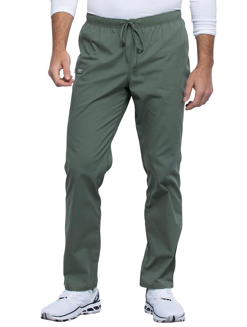 Unisex Pocketless Drawstring Pant