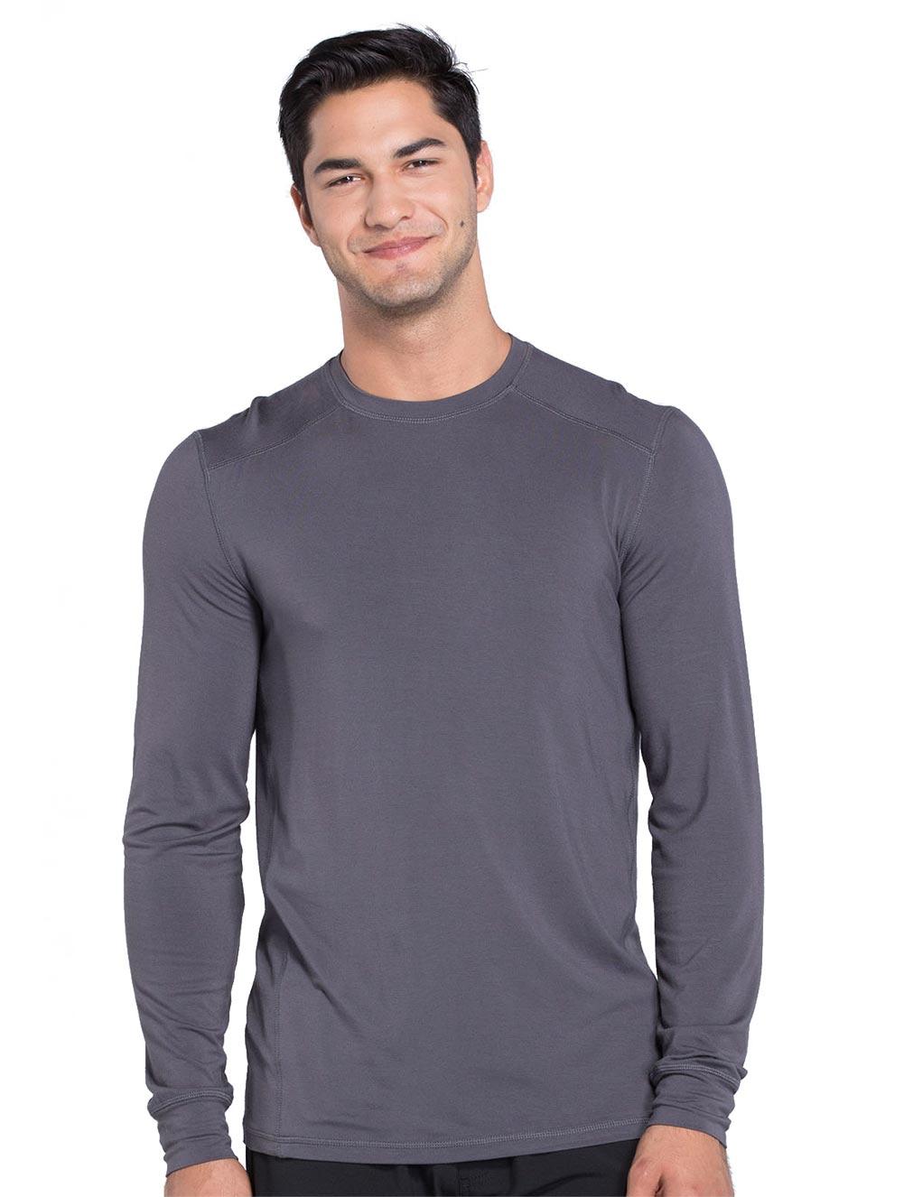 Men's Long Sleeve Underscrub Knit Top