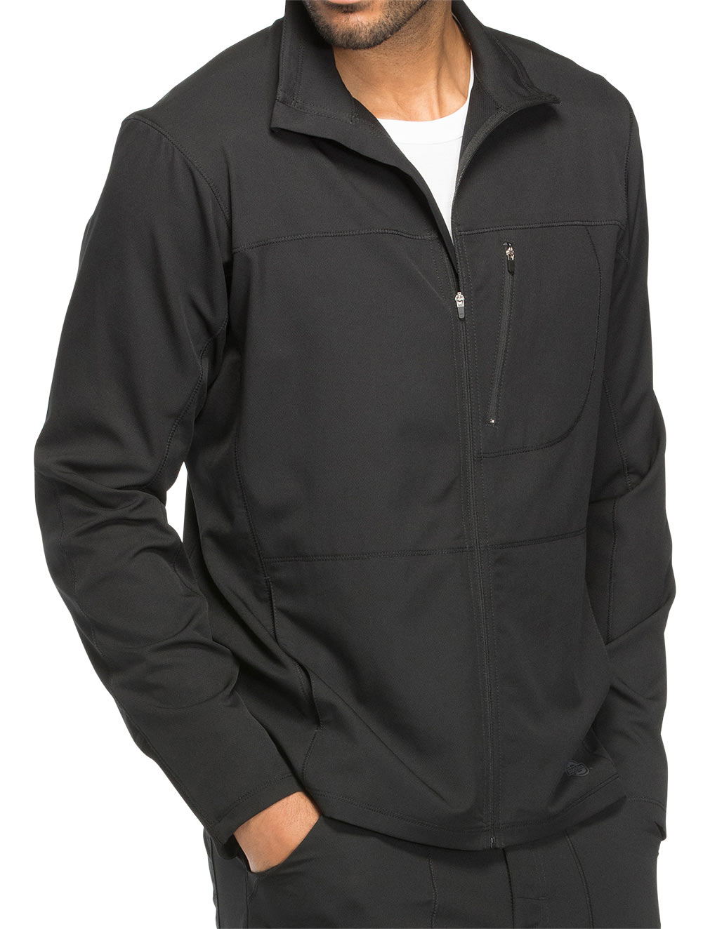 'Dynamix' Men's Zip Front Warm-Up Jacket