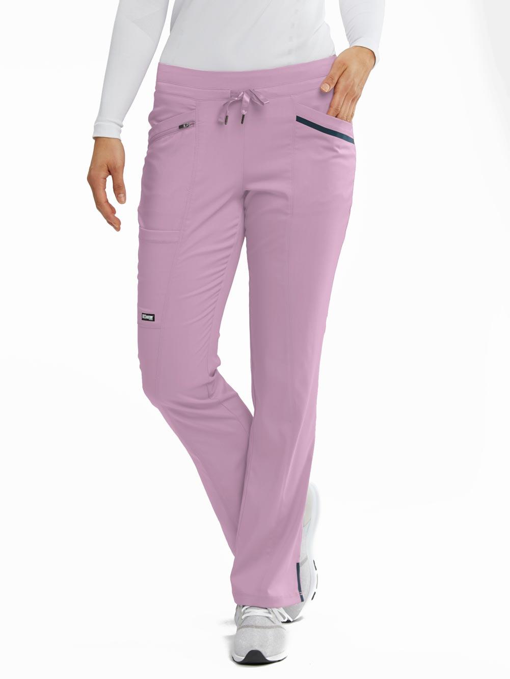 'Melody' 5 Pocket Drawstring Scrub Pants
