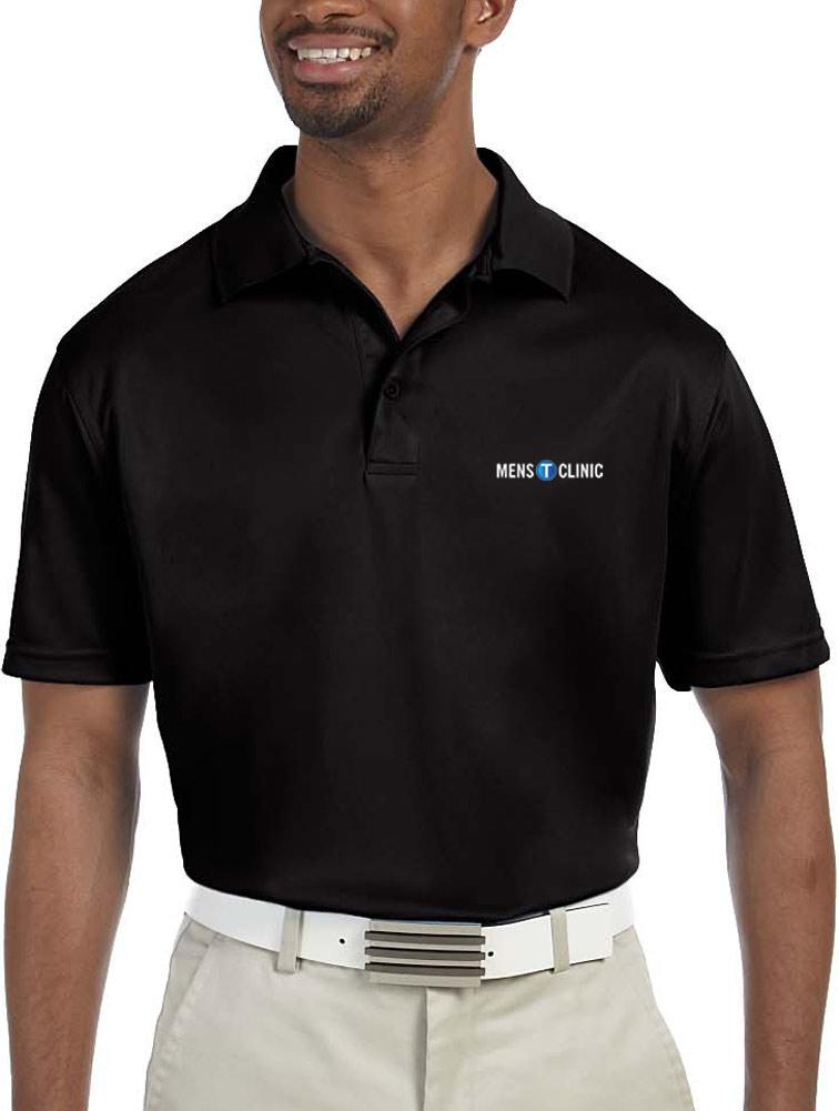 Men's Polytech Polo w/ Logo Embroidery