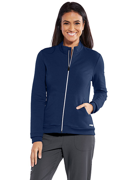Women's 'Spirit' Full-Zip Scrub Jacket