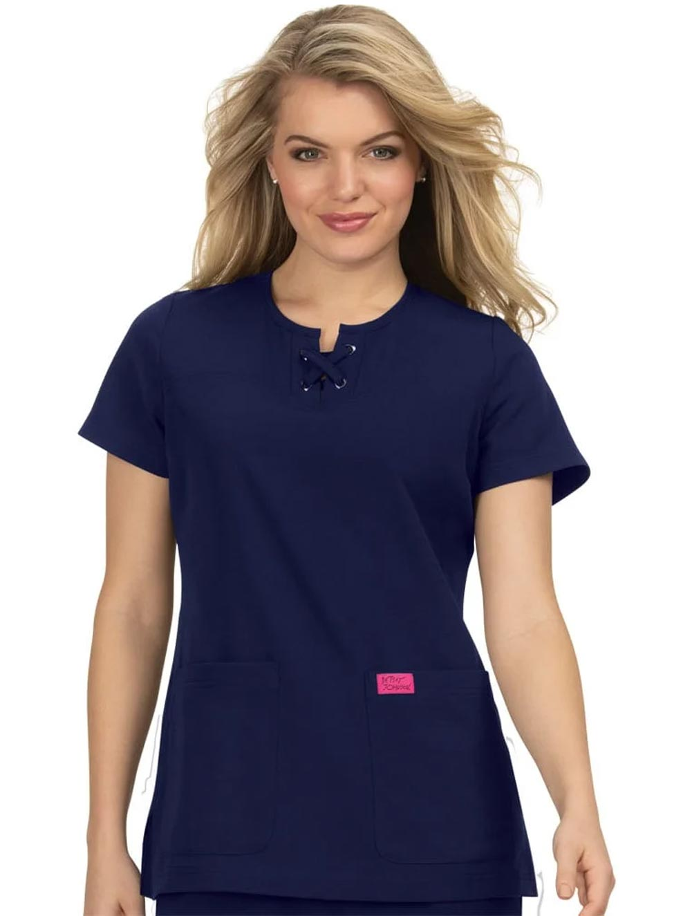 'Clover' Solid Scrub Top