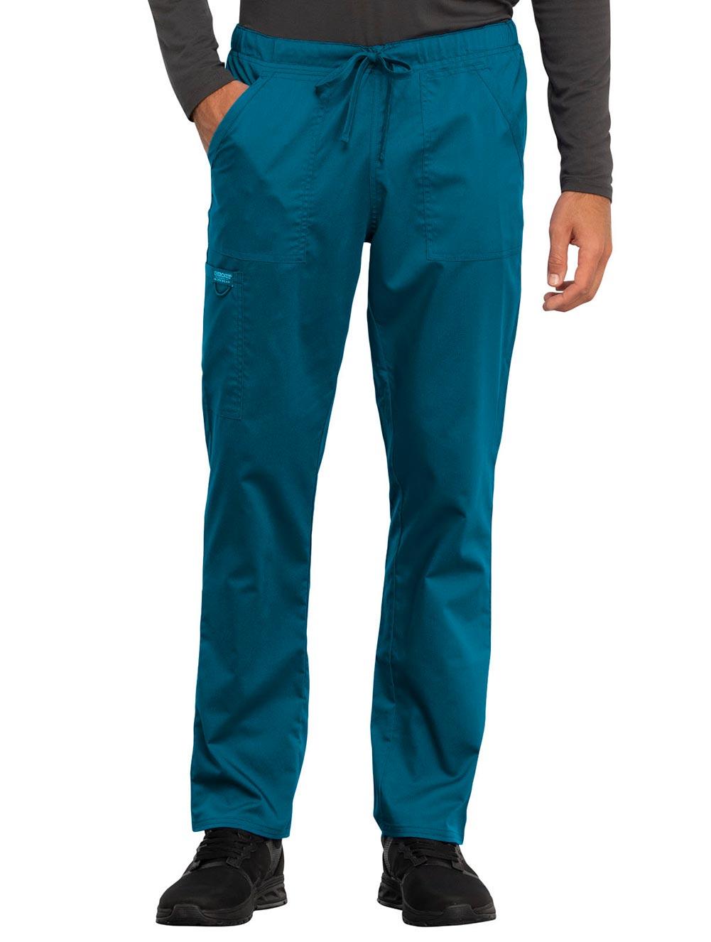 Unisex Tapered Leg Drawstring Pant