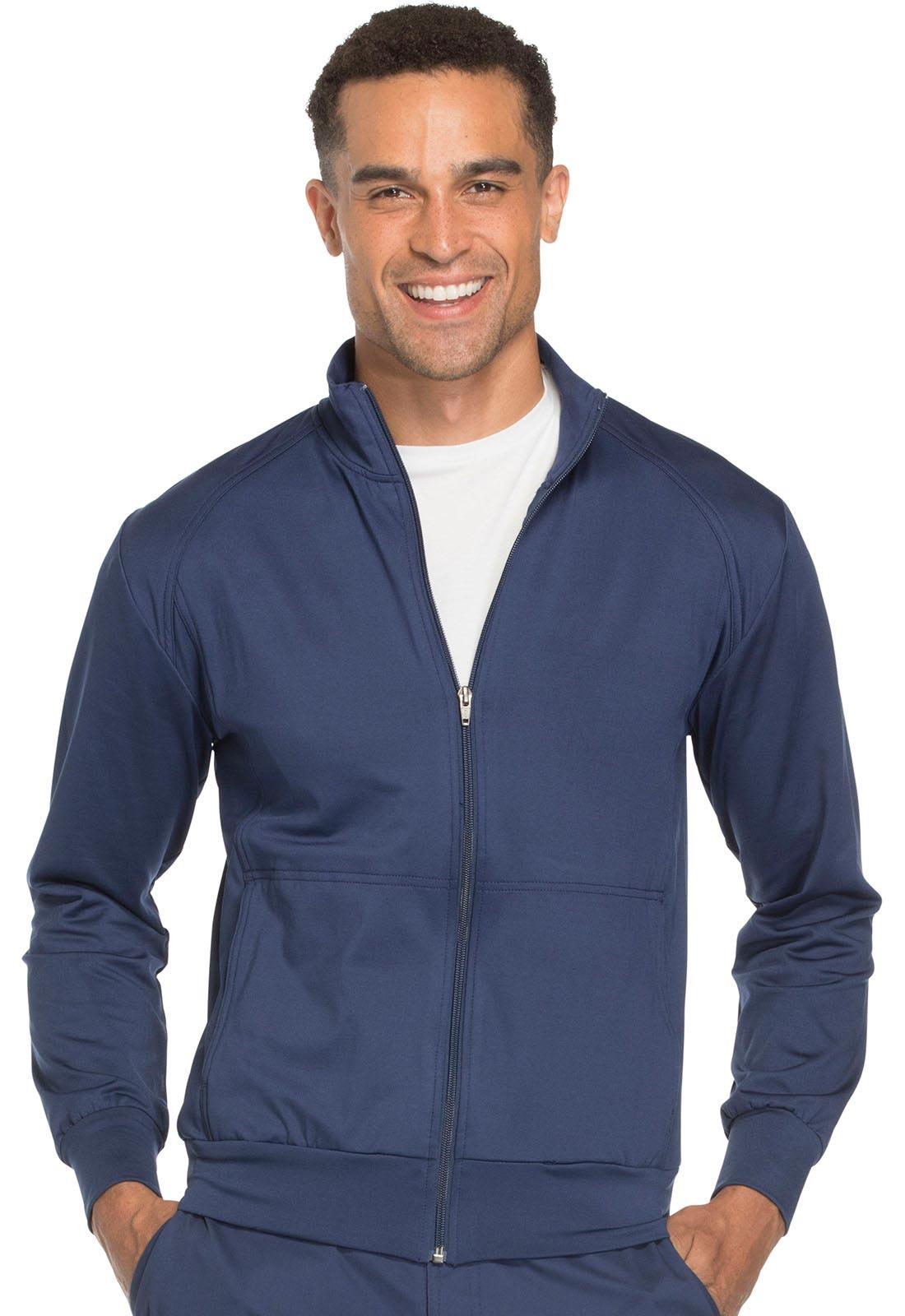 Unisex Zip Front Warm-Up Jacket