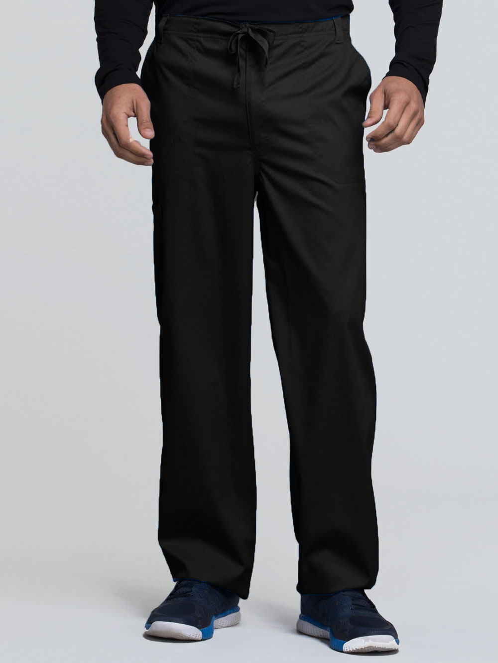 Luxe Men's Fly Front Drawstring Pant