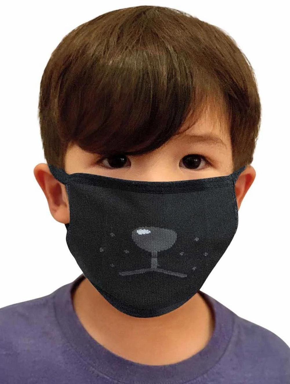 Children's Reusable Cloth Fashion Mask (1-pc)