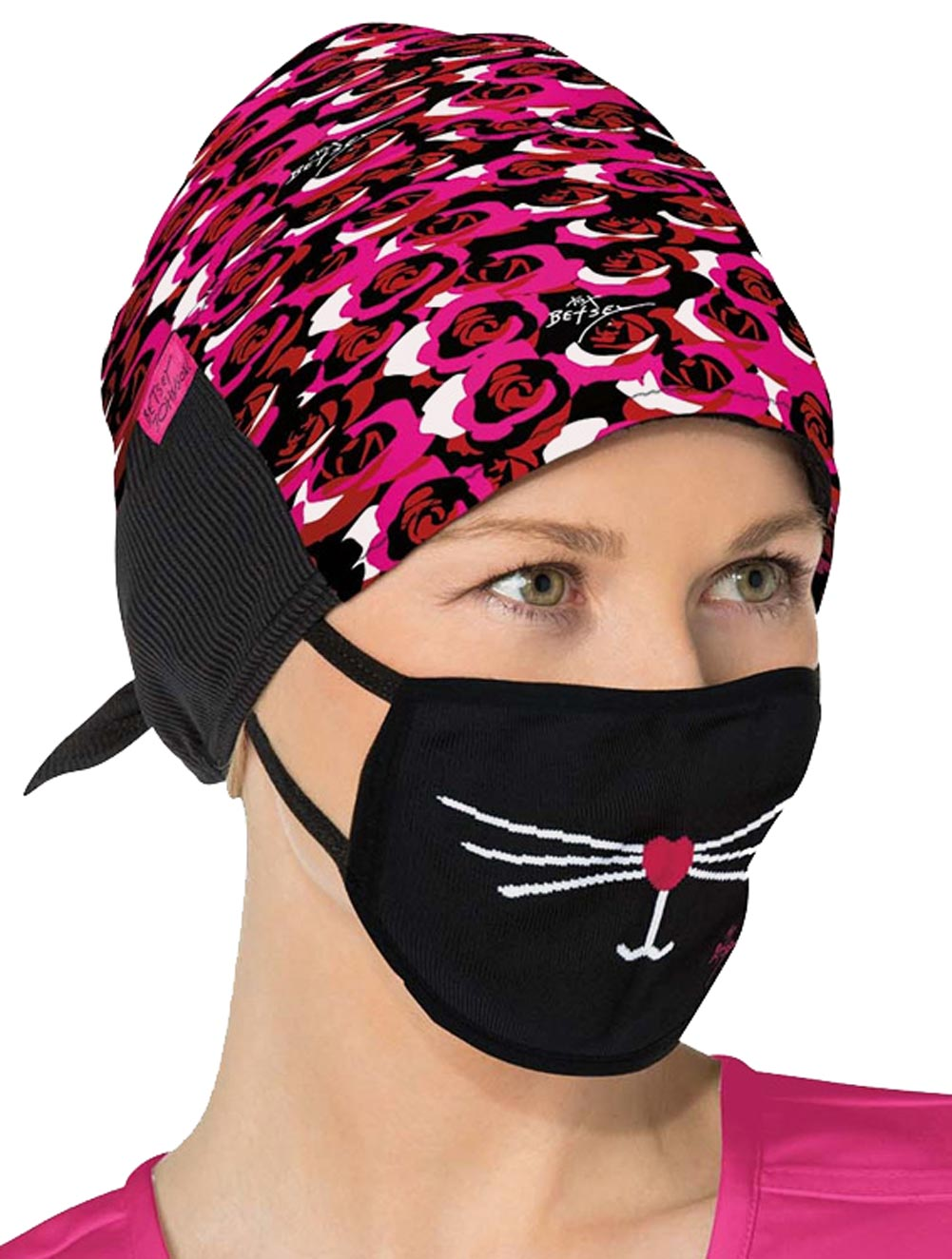 Betsey Printed Surgical Hats