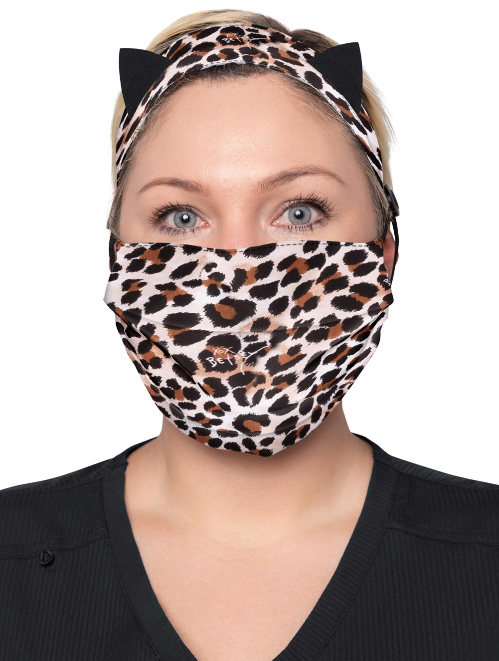 Print Mask & Headband Set