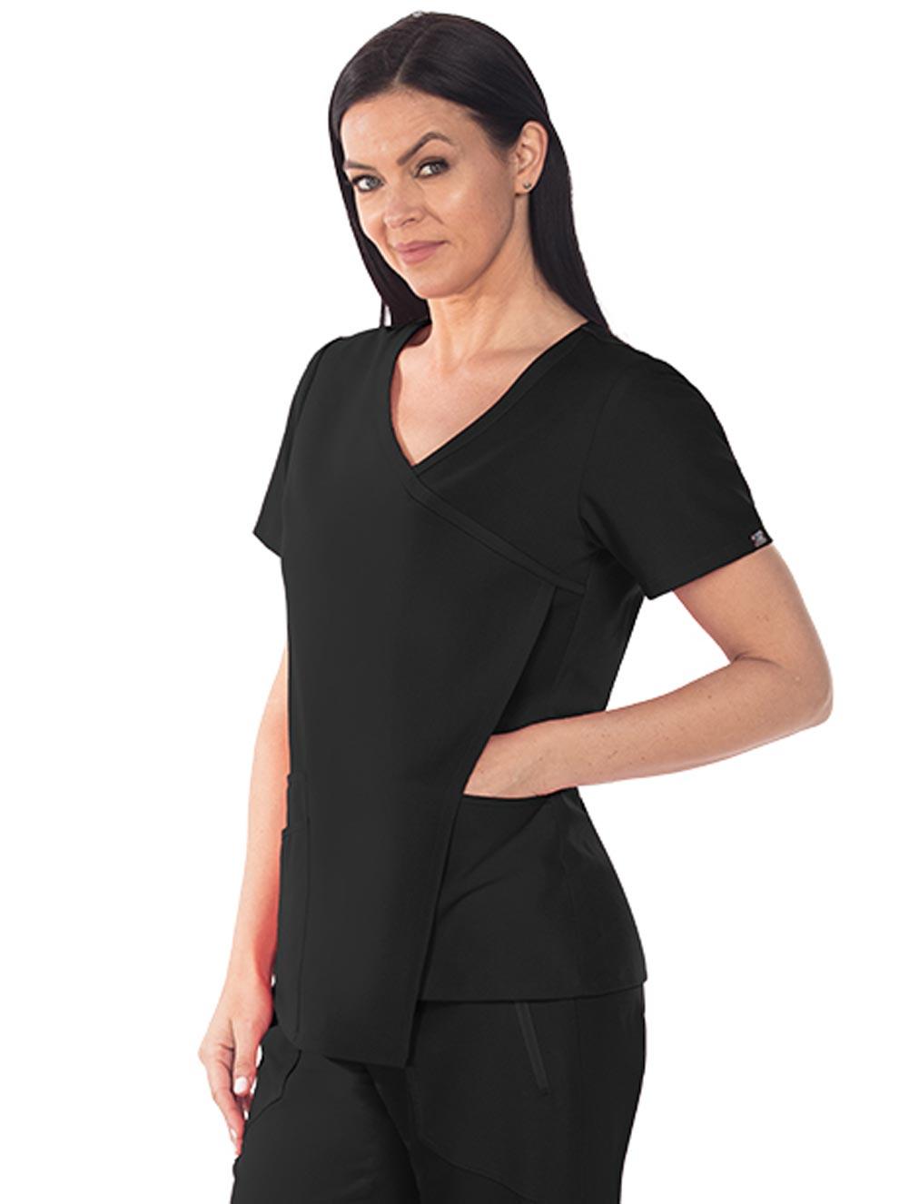 'Grey's Anatomy Signature' 3-Pocket Asymmetrical Front Drape
