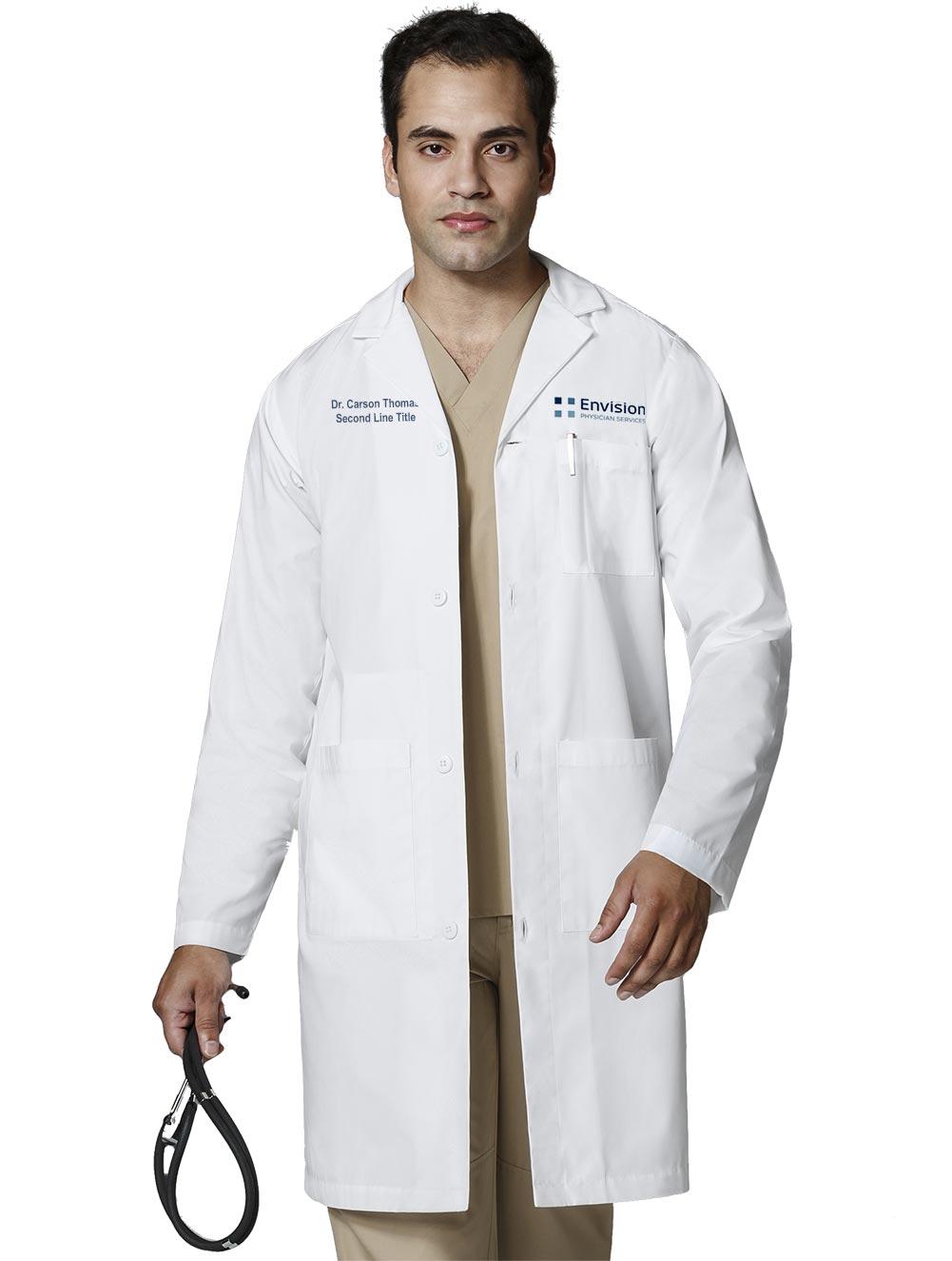 WonderLAB Basics Men's Long Lab Coat