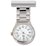 Lapel Watch - Chrome Case - 1740