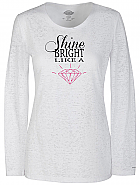 'Shine Bright' Knit Tee