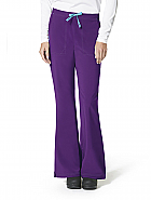 Cross-Flex Women's Flat Front Flare Pant