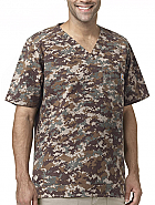 Men's Solid Ripstop Utility Top Digi Camo