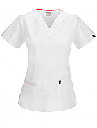 V-Neck Top w/ Antimicrobial + Fluid Barrier