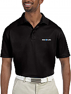 Men's Polytech Polo w/ Logo Embroidery