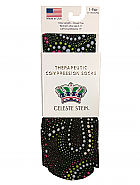 'Blackie' Fashion Compression Sock 8-15 mmHg